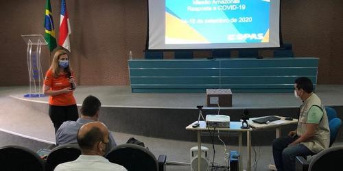 Apoio da OPAS ao Brasil durante a pandemia de COVID-19